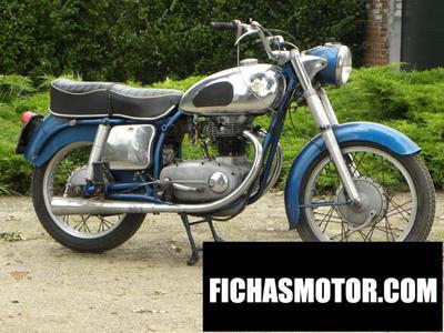 Ficha técnica Horex regina 400 1958