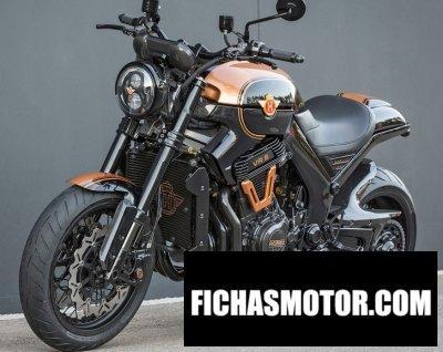 Ficha técnica Horex vr6 black edition 2016