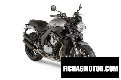 Ficha técnica Horex vr6 roadster 2014
