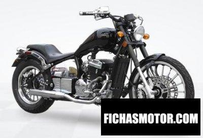 Imagen moto Hunter Daytona 350 año 2020