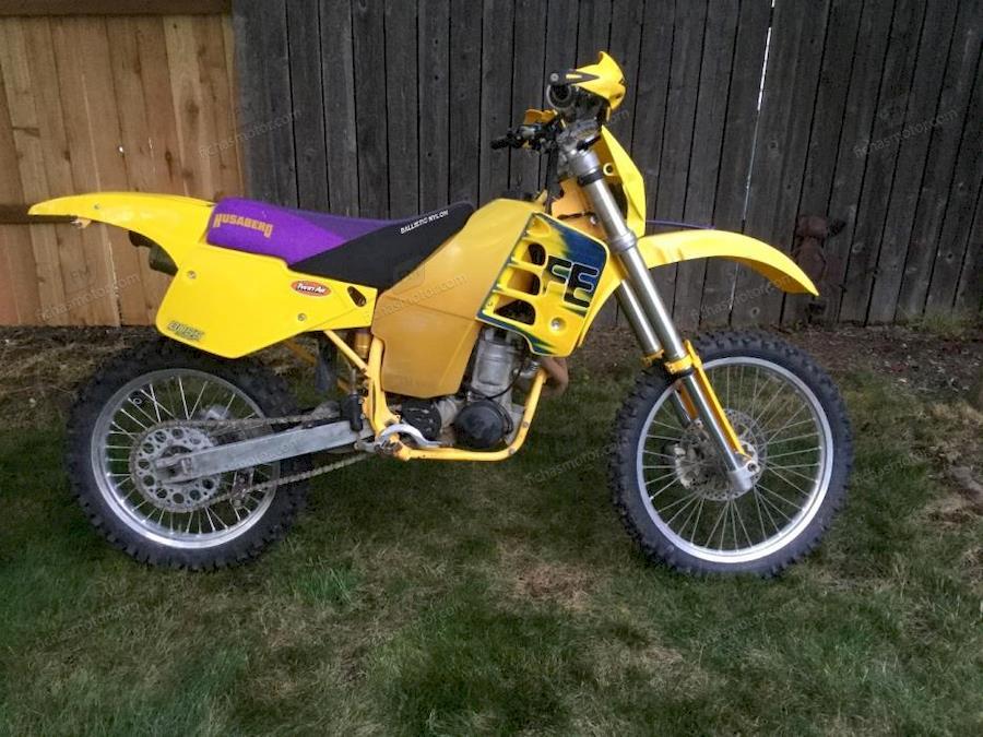 Imagen moto Husaberg fe 501 elduro año 1996