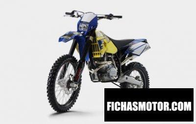 Imagen moto Husaberg fe 650e año 2008