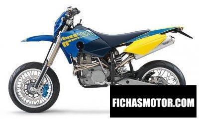 Ficha técnica Husaberg fs 450 e 2006