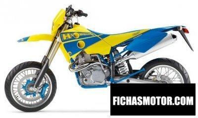 Ficha técnica Husaberg fs 650 e 2004