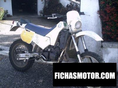 Imagen moto Husqvarna 125 wr año 1985