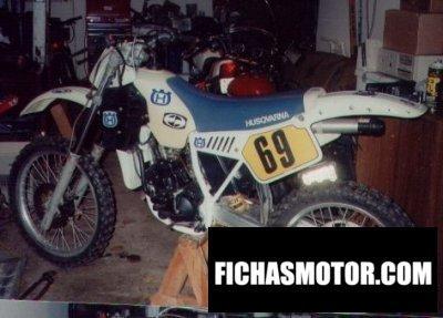 Imagen moto Husqvarna 125 wrk año 1988
