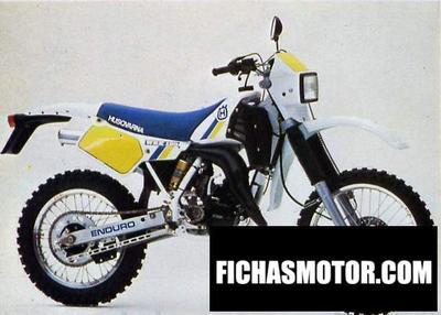 Ficha técnica Husqvarna 125 wrk 1990