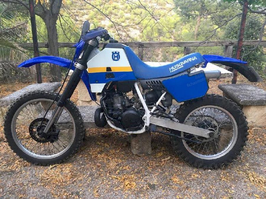Ficha técnica Husqvarna 125 wrk 1992