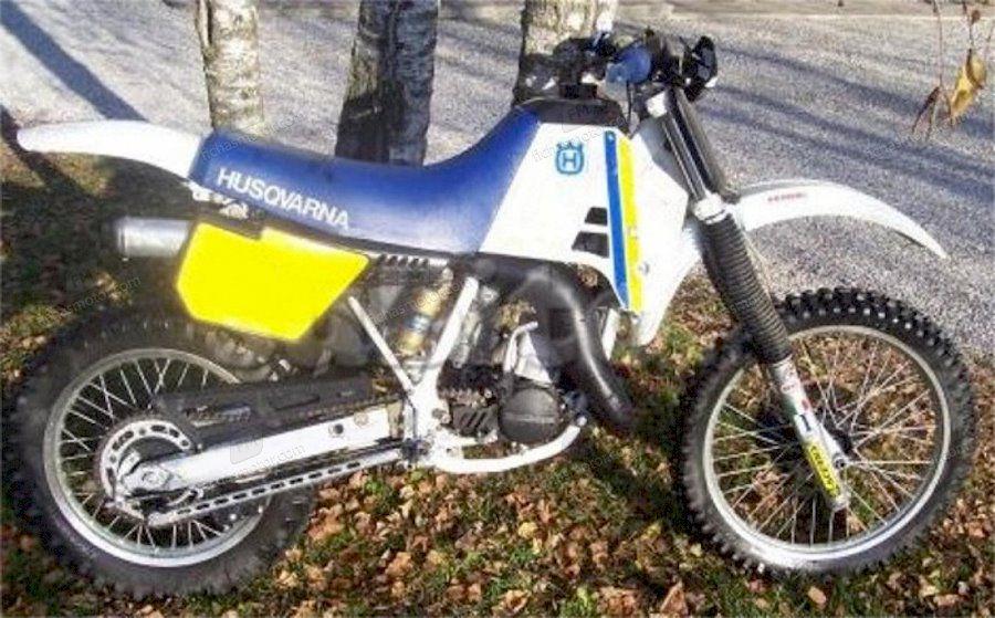Ficha técnica Husqvarna 250 wrk 1991
