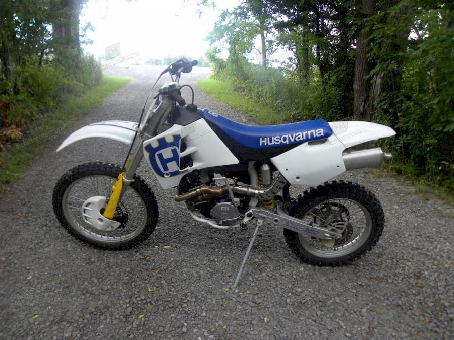 Imagen moto Husqvarna 250 wrk año 1992
