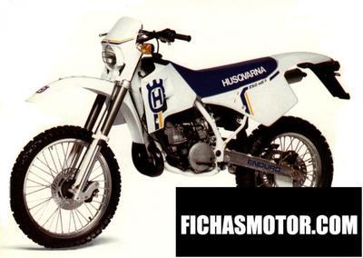 Ficha técnica Husqvarna 260 wrk 1990