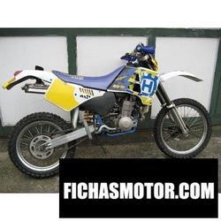 Imagen moto Husqvarna 350 te 1990