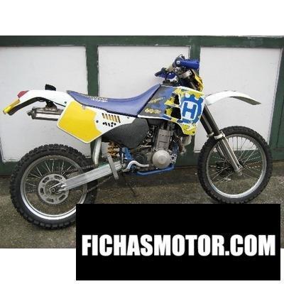Ficha técnica Husqvarna 350 te 1990