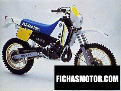 Ficha técnica Husqvarna 400 wr 1985