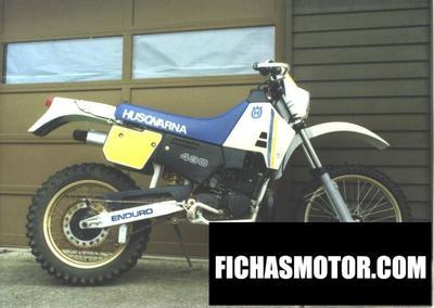 Ficha técnica Husqvarna 400 wr 1990