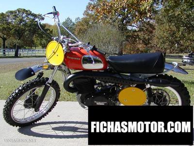 Imagen moto Husqvarna 450 wr año 1973