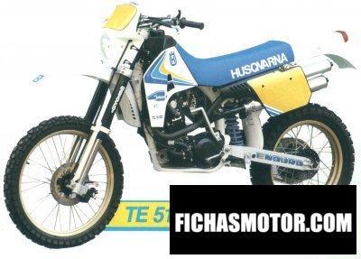 Ficha técnica Husqvarna 510 te 1989