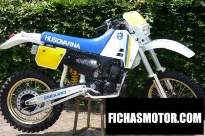 Imagen moto Husqvarna 510 telc-88 año 1988