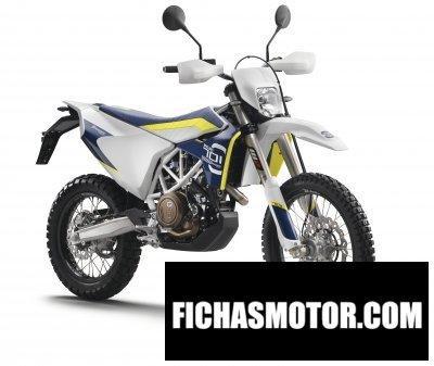 Imagen moto Husqvarna 701 enduro año 2016