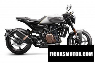 Imagen moto Husqvarna concept hvitpilen 701 año 2018