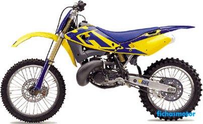 Imagen moto Husqvarna cr 250 año 2002