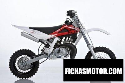 Imagen moto Husqvarna cr50 año 2012