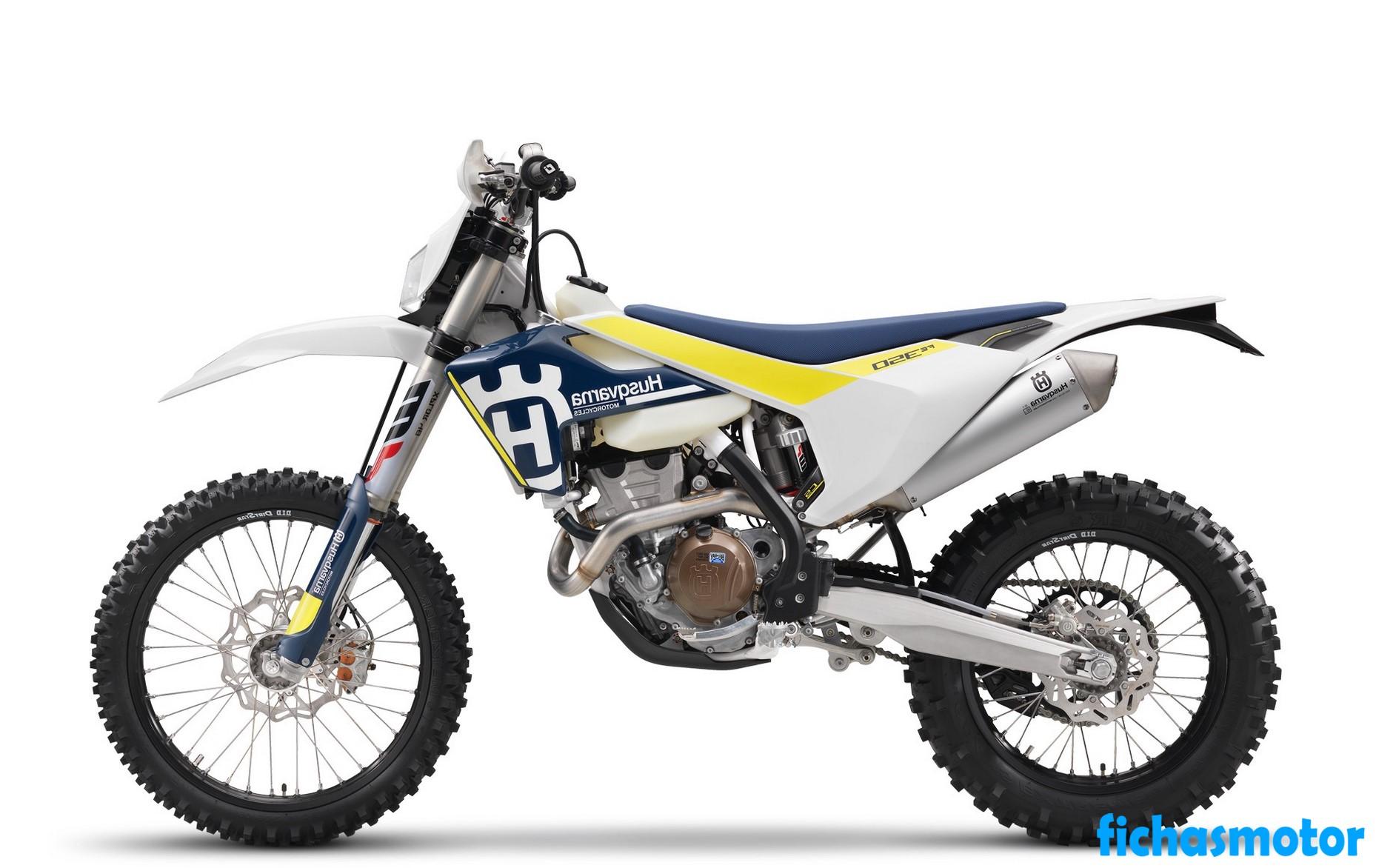 Ficha técnica Husqvarna FE 350 2020