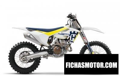 Imagen moto Husqvarna fx 350 año 2017