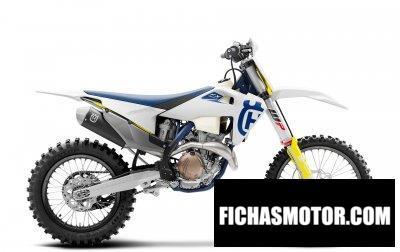 Imagen moto Husqvarna FX 350 año 2020