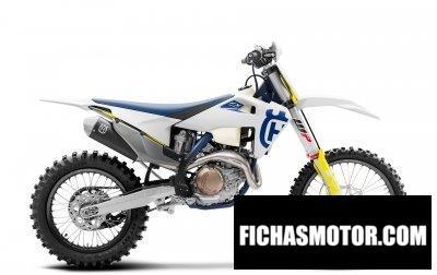Imagen moto Husqvarna FX 450 año 2020