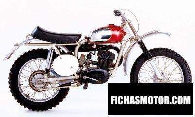 Ficha técnica Husqvarna racer 1963