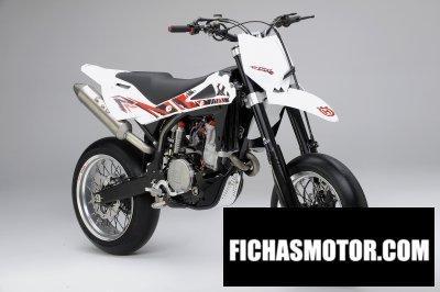 Imagen moto Husqvarna sm 450rr año 2010