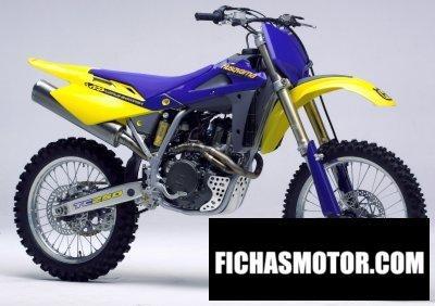 Ficha técnica Husqvarna tc 250 2005