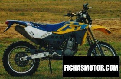 Ficha técnica Husqvarna te 400 2001