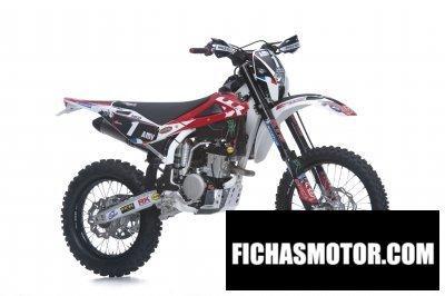 Imagen moto Husqvarna te250 meo replica año 2011