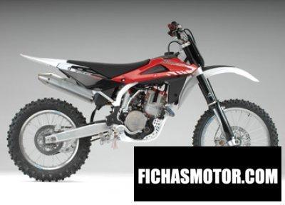 Ficha técnica Husqvarna txc 450 2008