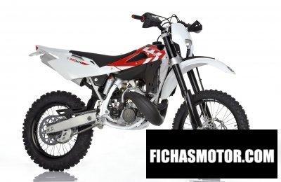 Imagen moto Husqvarna wr300 año 2011