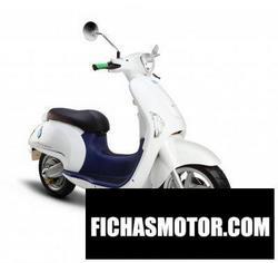 Imagen moto Hyosung eva 2016