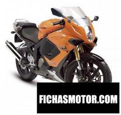 Imagen moto Hyosung gt125r 2008