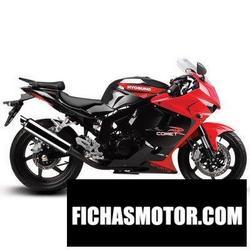 Imagen moto Hyosung gt125r 2013