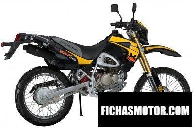 Imagen moto Hyosung rx125d-e año 2008