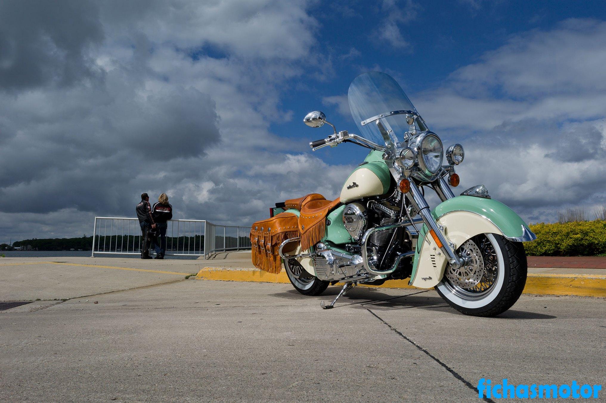 Ficha técnica Indian chief vintage 2013