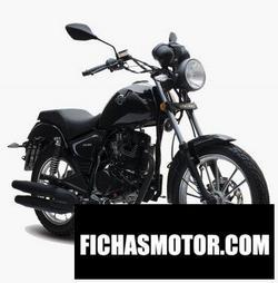 Imagen moto Italika RC200 2020