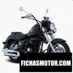 Imagen moto Italika TC250 2020