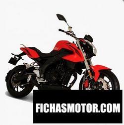 Imagen moto Italika V0RT-X650 2020
