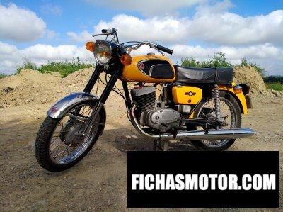 Imagen moto Jawa-cz 125 año 1973