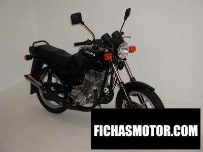Ficha técnica Jawa-cz 350 basic 2006