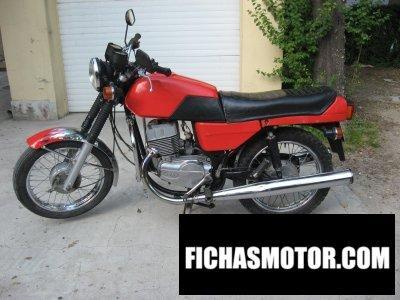 Imagen moto Jawa 350-639 año 1991