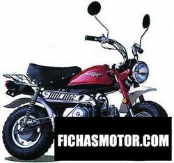 Imagen moto Jincheng monkey 50 2003
