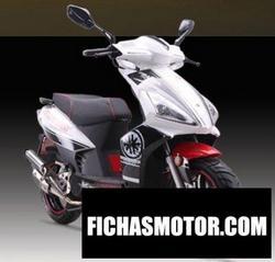 Imagen moto Jonway vajra125 2012